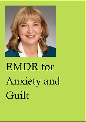 EMDR Demonstrations DVD, LPE5 - EMDR for Anxiety a