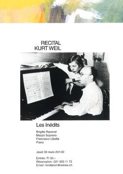 Kurt Weill 2017