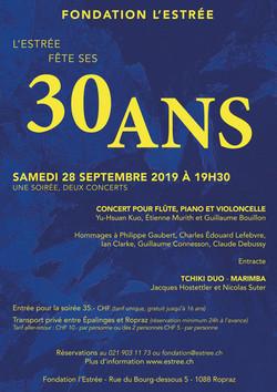 Concert 30 ans