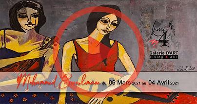 Affiche Facbook Med essoulimani. playe.j