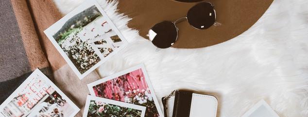Gedruckte Instagram-Fotos