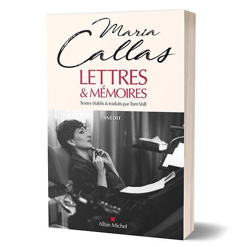 """Livre """"Lettres & Mémoires"""""""