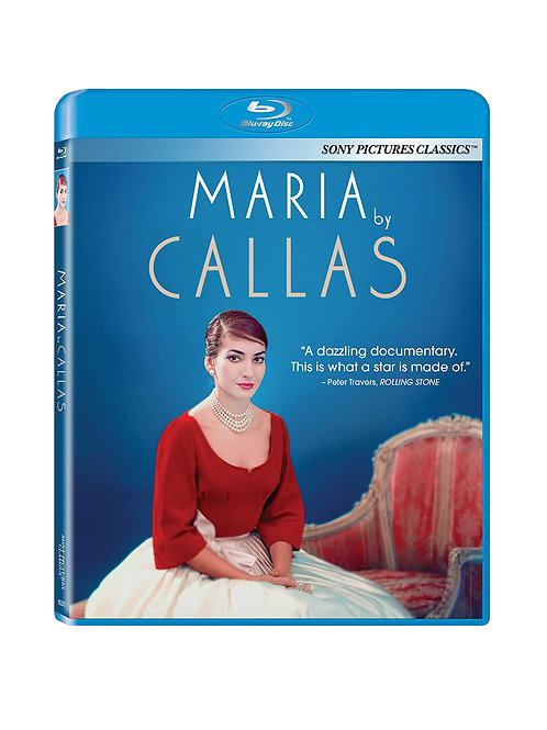 Maria by Callas - Bluray (version USA avec Joyce DiDonato)