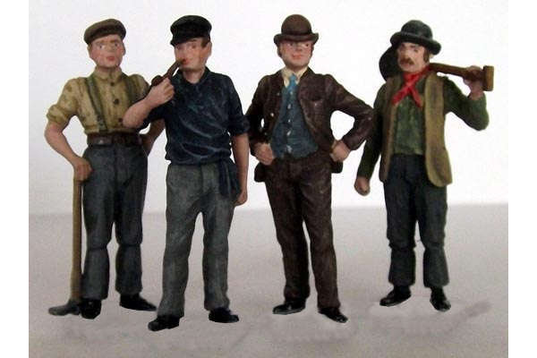 Victorian Navvies 1 (painted)