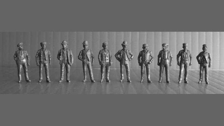 HO6 - Edwardian Workmen