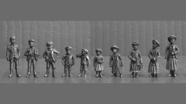 OO8 - Edwardian Children