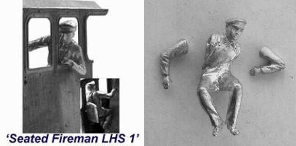 SFL1 - Seated Fireman LHS 1