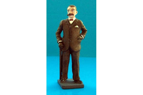 Edward Elgar (painted, on base)