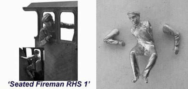 SFR1 - Seated Fireman RHS 1
