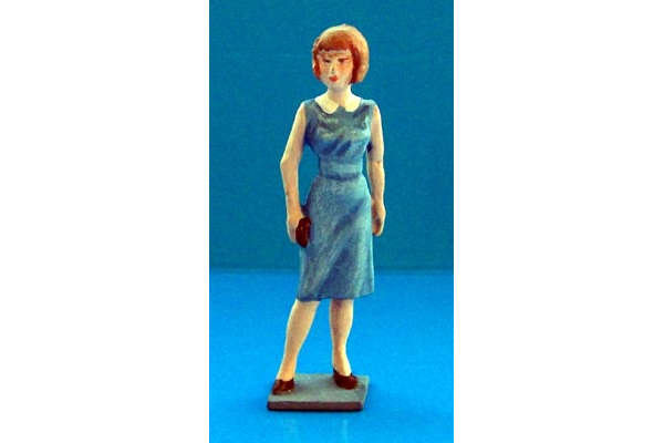 1960s Girl (painted, on base)