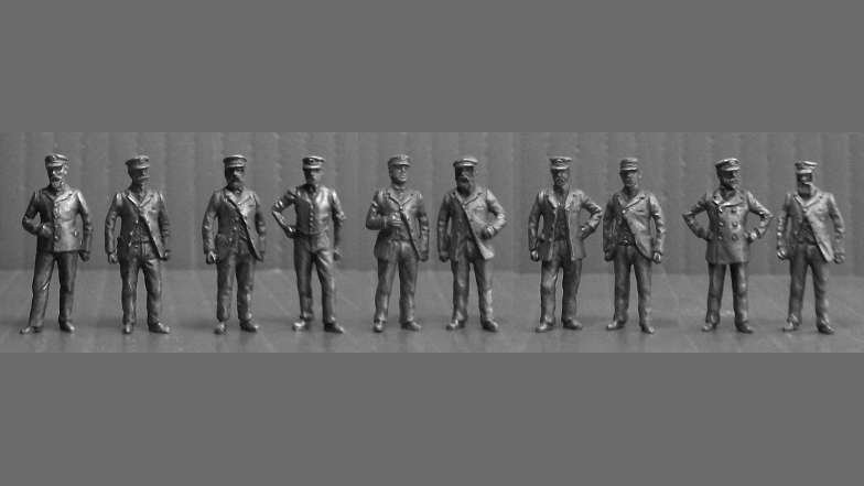 OO7 - Edwardian Enginemen