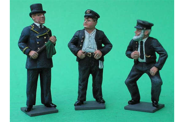 Oh! Mr Porter (painted, on bases)