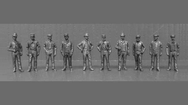OO6 -Edwardian Workmen
