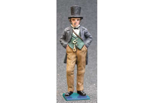 Isambard Kingdom Brunel (painted, on base)