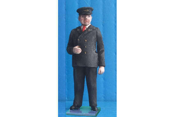 1950s Guard (painted, on base)