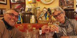 Franco ist für seine Edel-Grappa-Spezialitäten bekannt