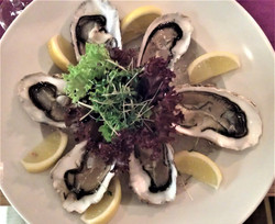 Fangfrische Austern