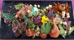 Lammfiletspitzen mit Salat
