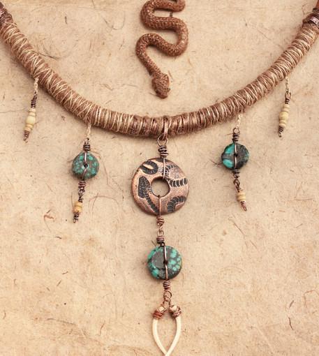 Snake turquoise totem snake.jpg