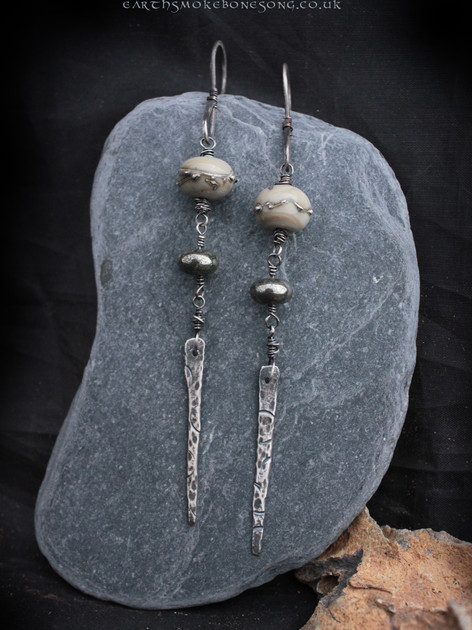 recycled silver drop earrings.jpg