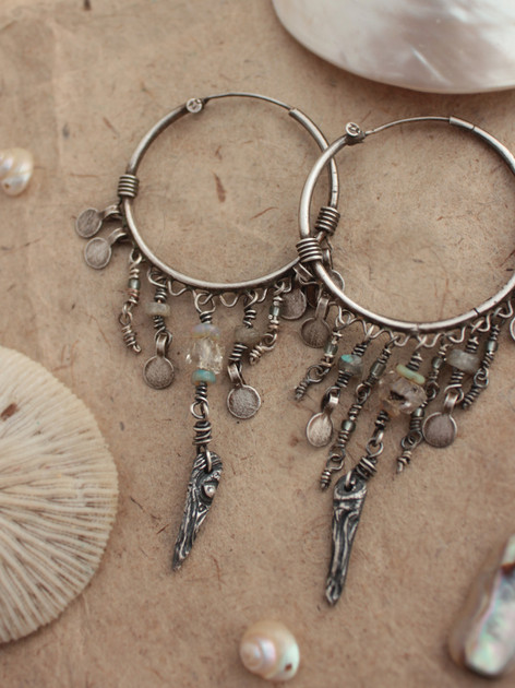 Silver goddess tree gypsy earrings.jpg