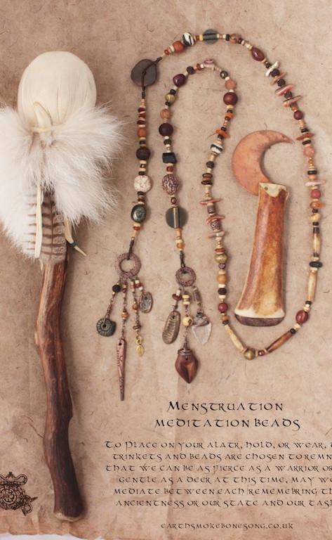 Maiden Menstrual Prayer Beads