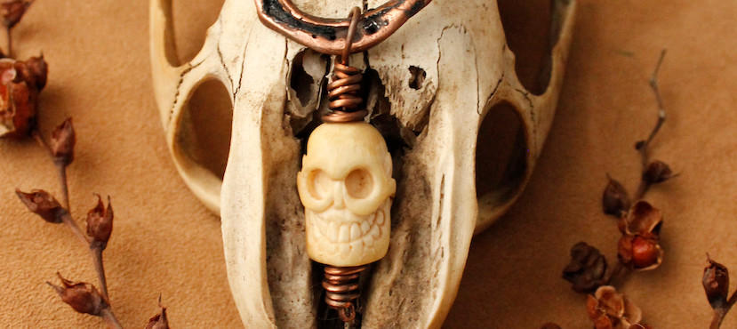 Mammoth ivory Bronze Earth skull .jpg