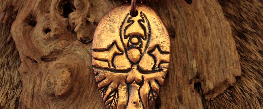 animal whisperer fragment necklace thick