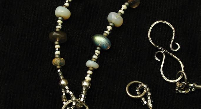 silver dreaming snake beads close.jpg