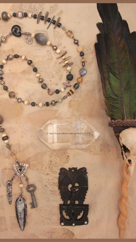 Stone Crone Prayer Beads