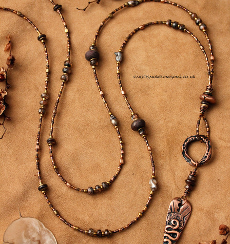 trickster snake bronze earth and andalus