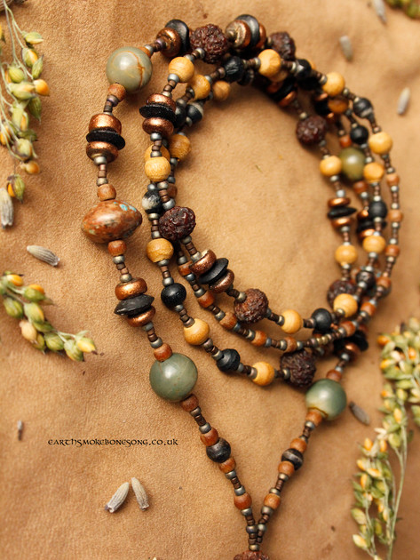 nymph speak woodland colours beads curle