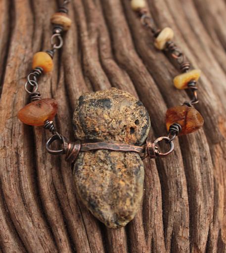 Instagram cave bear bone amber and antiq