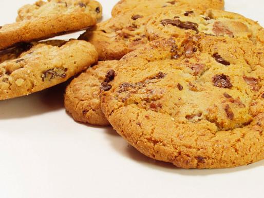 how to make vegan peanut butter, & chocolate cookies