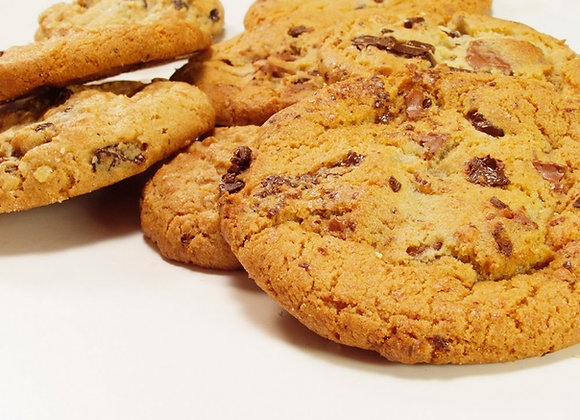 FRESH BAKED COOKIES, 2 FOR $1.00
