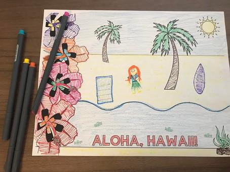 Aloha, Mystery Club!