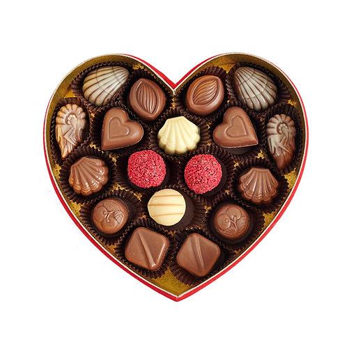 Love Box Hediyelik  Çikolata Kalp Kutu