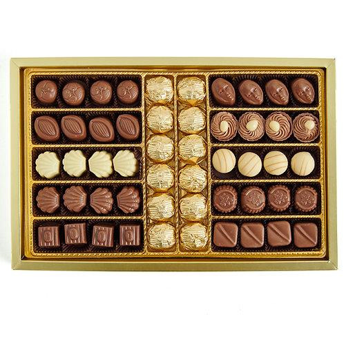 Gurme Lux Spesiyal & Yaldızlı Hediyelik Çikolata Kutu