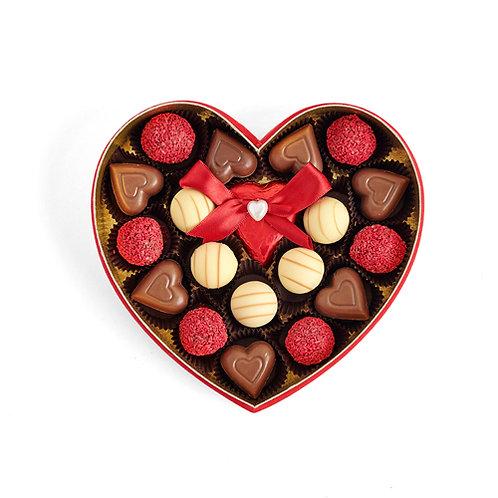 Romance of Paris Hediyelik  Çikolata Kalp Kutu