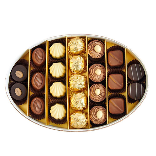 Special Luxury Hediyelik Çikolata Oval Kutu