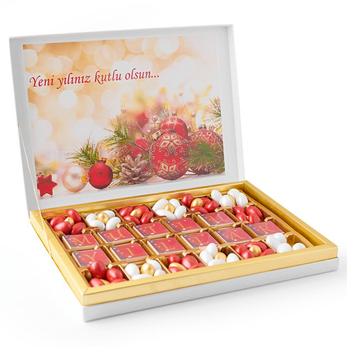 Exclusive Happy New Year Chocolate Gift Box