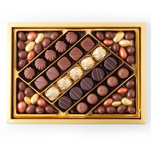 Premium Mixed Special & Gilded Chocolate Gift Box