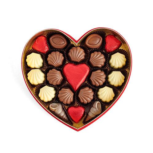Voice of Love Hediyelik  Çikolata Kalp Kutu