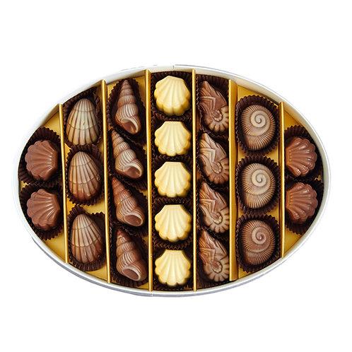 Carmel-by-the-Sea Hediyelik Çikolata Oval Kutu