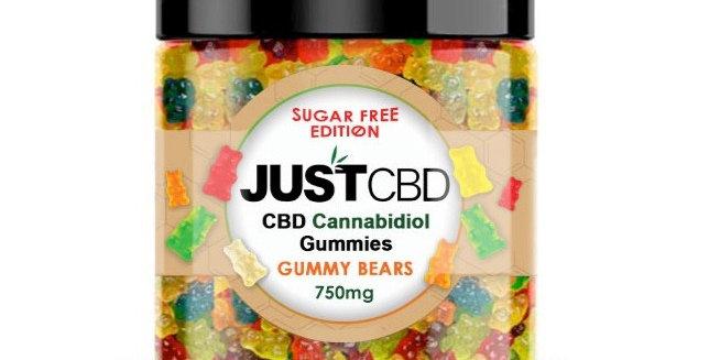 Sugar Free Gummy Bears 100mg