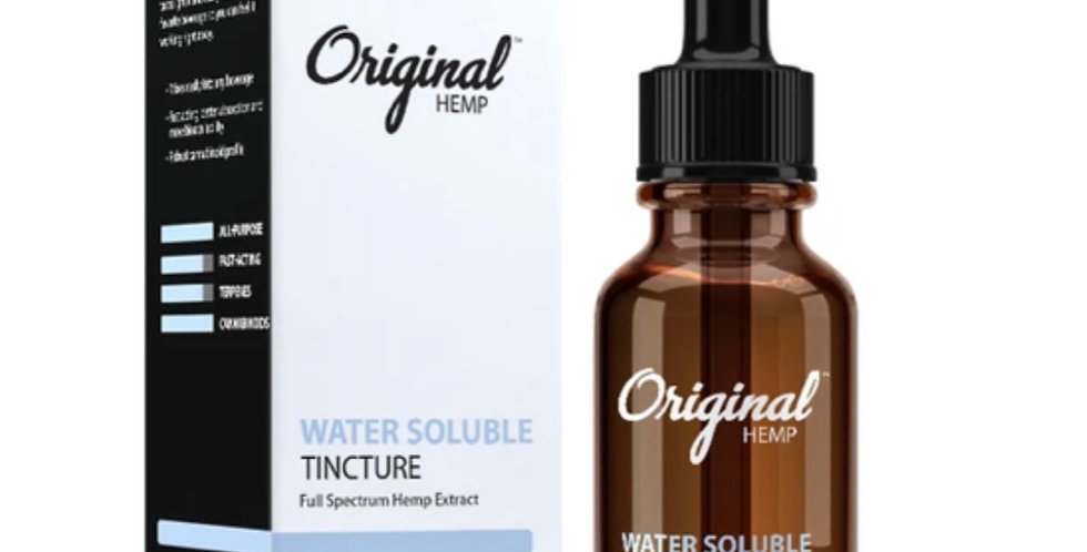 1000 MG Water Soluble CBD Tincture | Full Spectrum Hemp Extract (30mL)