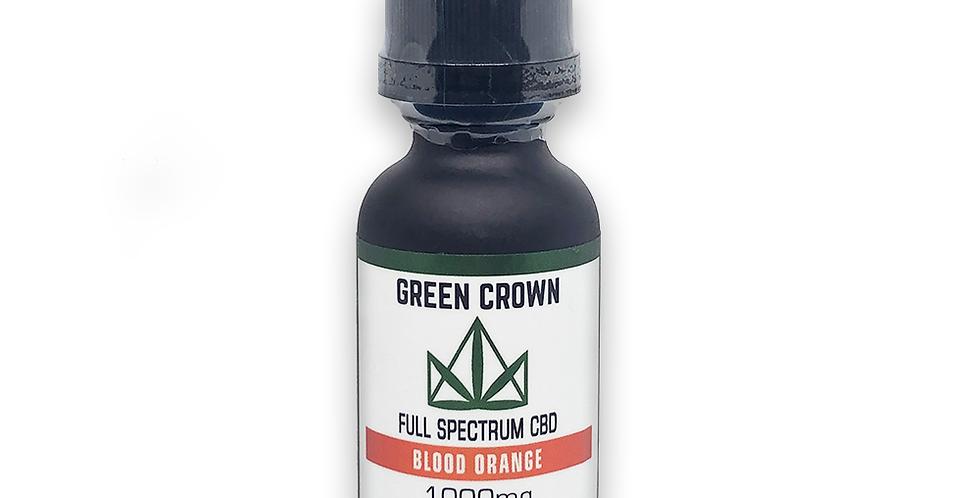 Green Crown Blood Orange 1000MG 1 oz