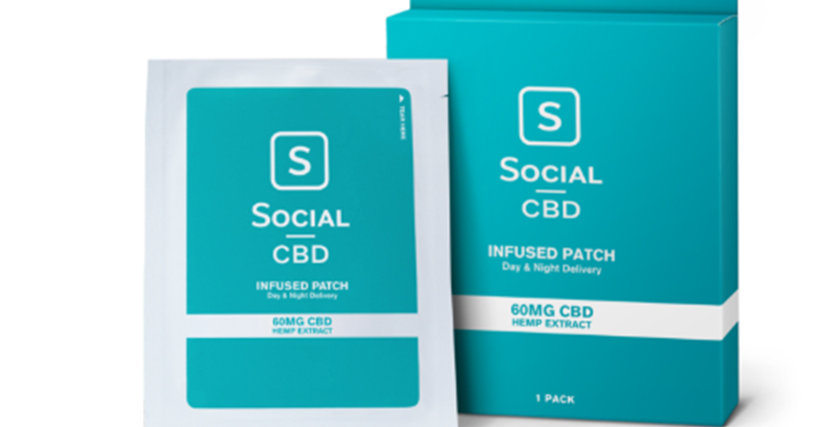 CBD Patch – 60mg (Single Patch)