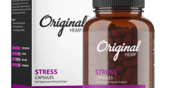 Stress Capsules (750mg)   Full Spectrum Hemp Extract