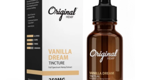 Vanilla Dream Tincture 1000mg (30mL)